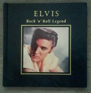 Elvis-Presley-Rock-n-Roll-Legend-Hard-Cover-Book-Mint-Condition-Never-Used