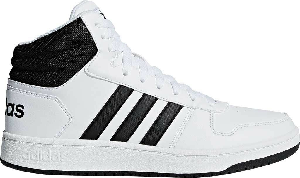 394eb7b1566 Adidas Hoops 2.0 Mid Basketball shoes shoes shoes (Men s) in White Black -  NEW