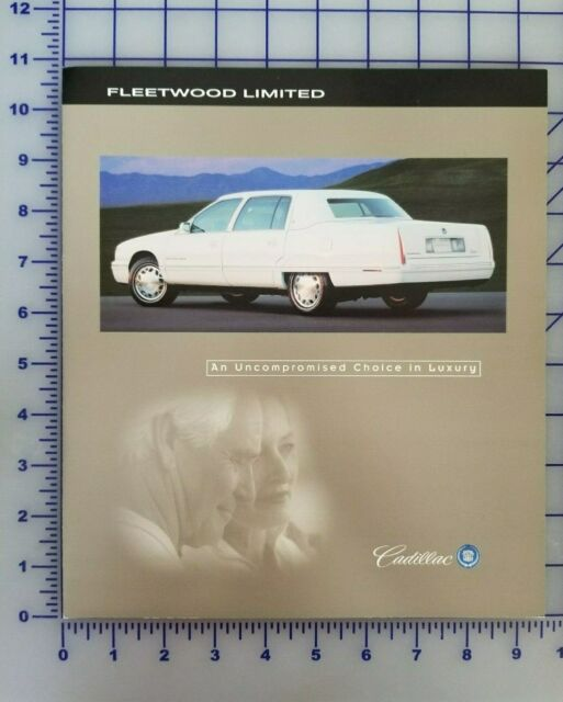 1998 1999 Cadillac Fleetwood Limited Brochure Folder ...