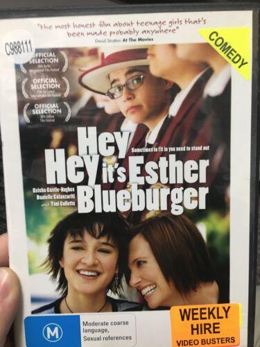 1 of 1 - Hey Hey It's Esther Blueburger ex-rental region 4 DVD (2008 comedy movie) cheap