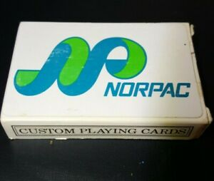 Norpac Paper Company Playing Cards Longview WA Sealed Deck