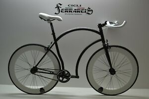 Fixed Bike Single Speed Bici Scatto Fisso Nera E Bianca Personalizzabile