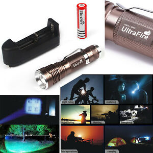 Ultrafire-5000lm-CREE-T6-Zoomable-LED-Flashlight-Torch-18650-Battery-Charger