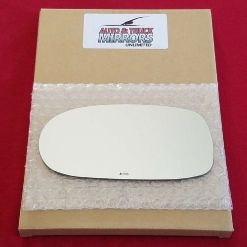 Full Adhesive For 05-13 Chevrolet Corvette Driver Si Mirror Glass Replacement