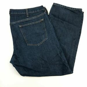 Old-Navy-Denim-Jeans-Mens-40X30-Blue-Slim-Straight-Leg-Cotton-Blend-Medium-Wash
