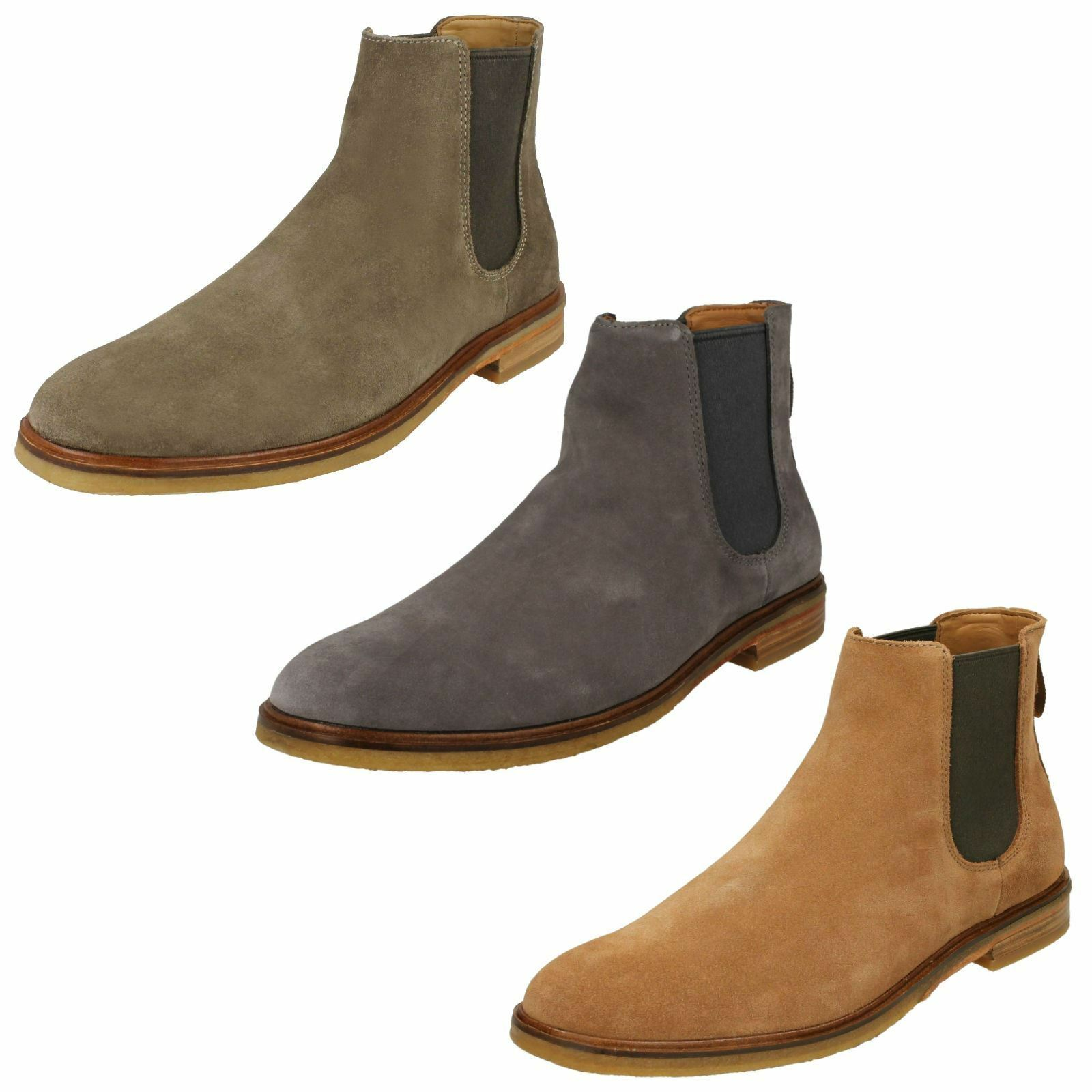 3cc38aba6fd991 Mens Clarks Clarkdale Gobi Chelsea Boots nwccwp6412-Boots - camping ...