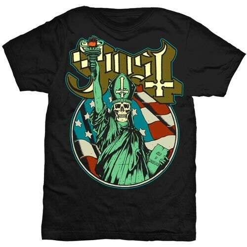 Ghost B.C /'Statue Of Liberty/' T-Shirt NEW /& OFFICIAL!