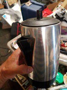 Priscilla Ware Aluminum 8-Cup Drip Stovetop Camping Percolator Made in USA  - eBay
