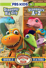 Dinosaur Train: Dinosaur Big City/Dinosaurs A to Z (DVD, 2014, 2-Disc Set)