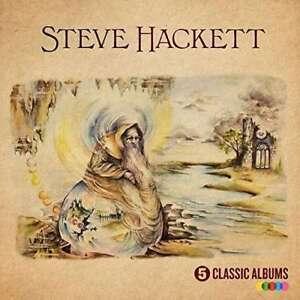 Steve-Hackett-5-Clasico-Albumes-Nuevo-CD