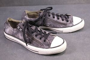CONVERSE ALL STAR Chucks 40 Schwarz Grau Weiss Double Upper