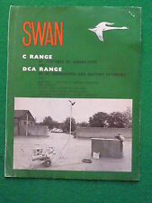 VINTAGE SWAN C RANGE AC GENERATORS DC DCA BATTERY CHARGERS BROCHURE (TRAFFIC)