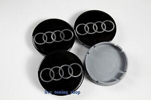 4x 60mm audi felgendeckel nabendeckel radnabendeckel. Black Bedroom Furniture Sets. Home Design Ideas