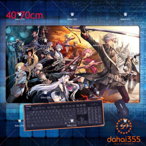 Sen no Kiseki Mousepad 40*70cm #E5 GAME Mat Pad Play Anime Eiyuu Densetsu