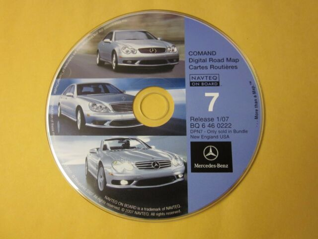 NO RESERVE $9 Bid NEW Mercedes Navigation System 10 CD Set BQ 6 46 0222 1/07