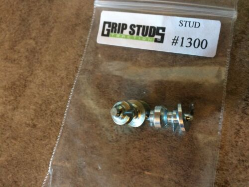 Dirt Mud /& Ice #1300 Tire Grip Studs 100 pk Fork Lift Tire Studs Gripstuds Trac