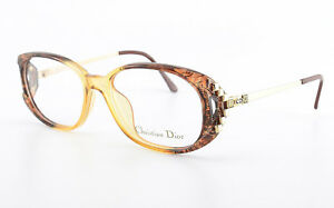 16 120 1980s Eyeglasses Frame Nos Senility VerzöGern 2625 31 54 Christian Dior Optyl Brille Mod