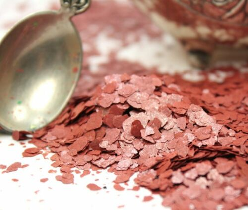311-4358 Mica Flakes Red The Professionals Choice Natural Mica