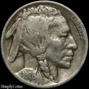 Details about 1928-D Indian Head Buffalo Nickel ~ VG Very Good ~ US Coin