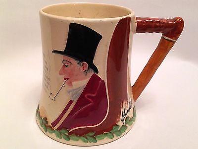 Crown Devon Fieldings John Peel Musical Tankard Mug Working - Fox Hunting