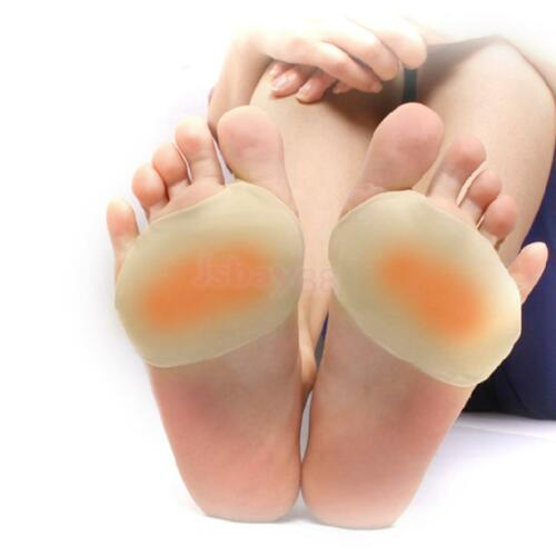 Footful Ball Of Foot Gel Pads Cushion Forefoot Metatarsal Morton/'s Neuroma S M L