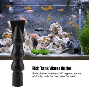 1-Aquarium-Water-Outlet-Nozzle-Tank-Pump-Duckbilled-Return-Pipe-Fitting-System