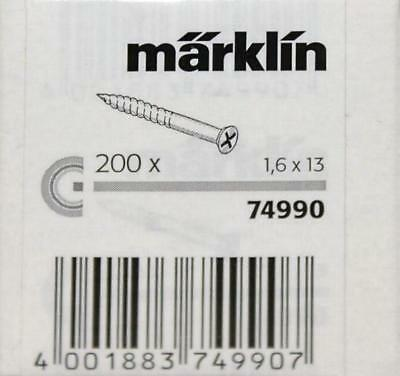 Märklin 74990 Gleisschrauben 200 Stück für C-Gleis H0 Fabrikneu