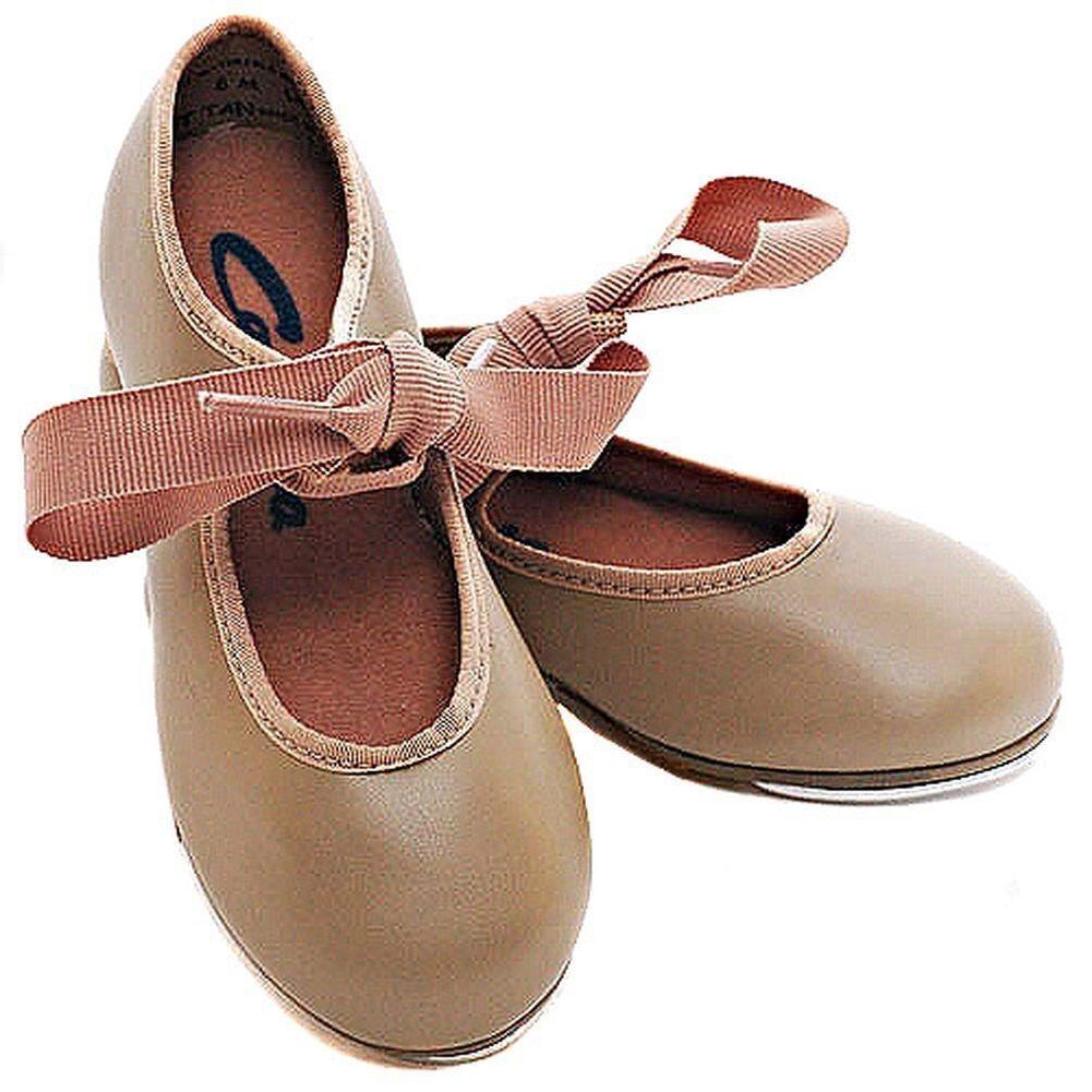 Fits Size 8.5 Capezio 625 Adult Size 9M Tan Jr Tyette Tap Shoe