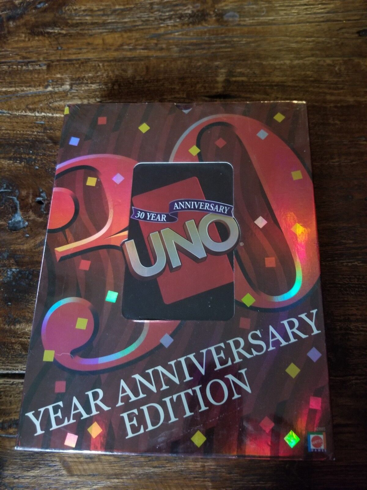 New UNO 30 YEAR ANNIVERSARY EDITION by Mattel