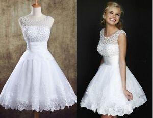 Plus Size New Short Mini Beach Wedding Bridesmaid Dresses Beaded