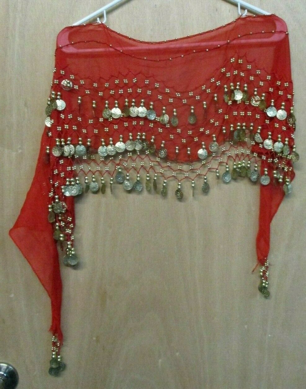 Arab or India Style Dance Head or Waste Scarf