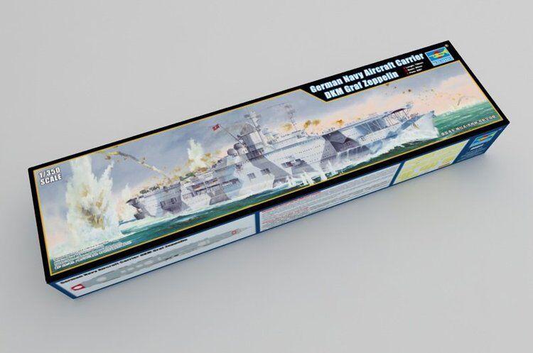 Trumpeter 1 350 05627 German Navy Aircraft Carrier Graf Zeppelin