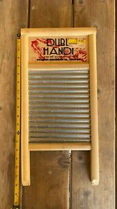 Vintage Dubl Handi Washboard Laundry Room Wall Decoration Ebay