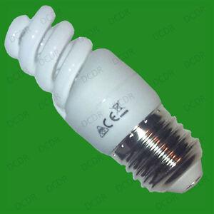 12x-9W-basse-consommation-Tres-compact-CFL-micro-spirale-AMPOULE-Es-E27