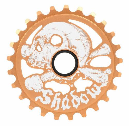 SHADOW CONSPIRACY CRANIUM SPROCKET 25t BMX BIKE SKULL FIT CULT SE SUBROSA COPPER