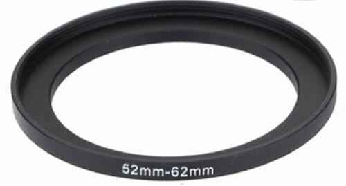 52-62 52mm a 62mm anillo adaptador de filtro de escalonamiento Step Up 52mm-62mm 52-62mm mejor