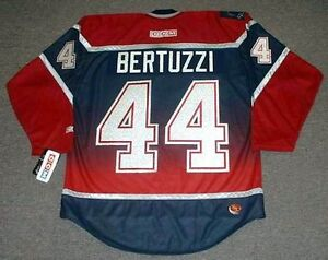 TODD BERTUZZI Vancouver Canucks 2002 CCM Throwback NHL Hockey ...