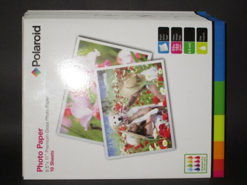LOT OF 5 POLAROID PHOTO PAPER {10 Sheets//pack x 5=50 Sheets!} TOP QUALITY!