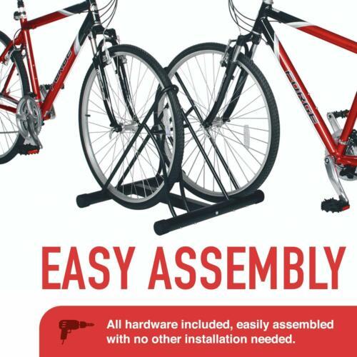 Set of 2 Large Bike Floor Storage Racks Stand Holder Cycle Bicycle Garage