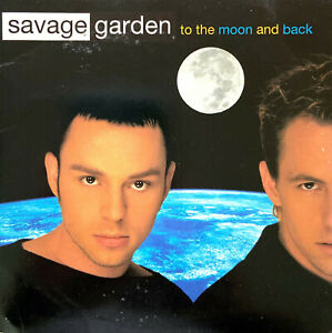 Savage-Garden-CD-Single-To-The-Moon-And-Back-Europe-VG-VG