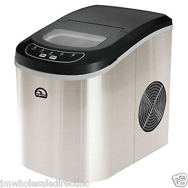 Igloo Countertop Ice Maker Reviews : Igloo ICE105 Portable Countertop Ice Maker - Refurbished from Tanga ...