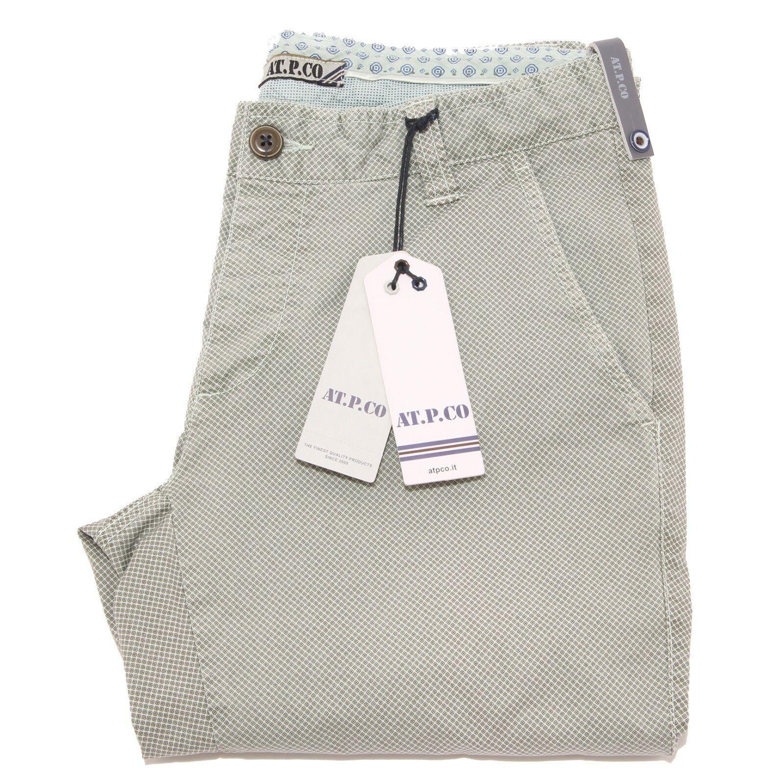 5913P pantalone AT.P.CO. FEDE verde grigio jeans uomo uomo uomo pant men 9907e5