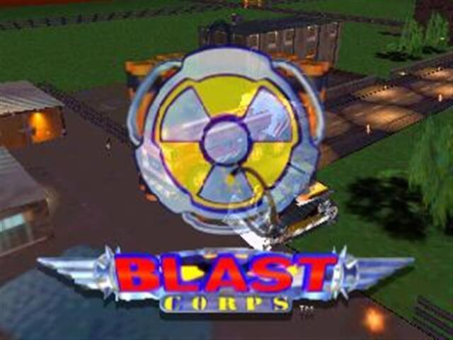 Blast Corps - Nintendo N64 Game