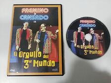 FAEMINO Y CANSADO EL ORGULLO DEL TERCER MUNDO DVD SLIM CAPITULOS 1-4 MULTIZONA