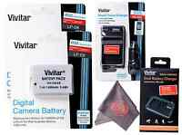 Batteries & Charger Lp-e8 W/ Microfiber Cloth For Canon Rebel T5i T4i T3i T2i