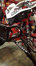 Kawasaki KFX 450 R HEPATV aluminum front nose guard - electronics protection!
