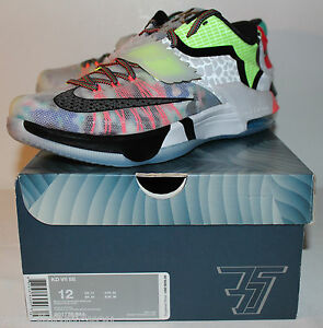 Nike Air KD 7 VI What the Kevin Durant Multi Color Sneakers Men s ... ed1bb5a863