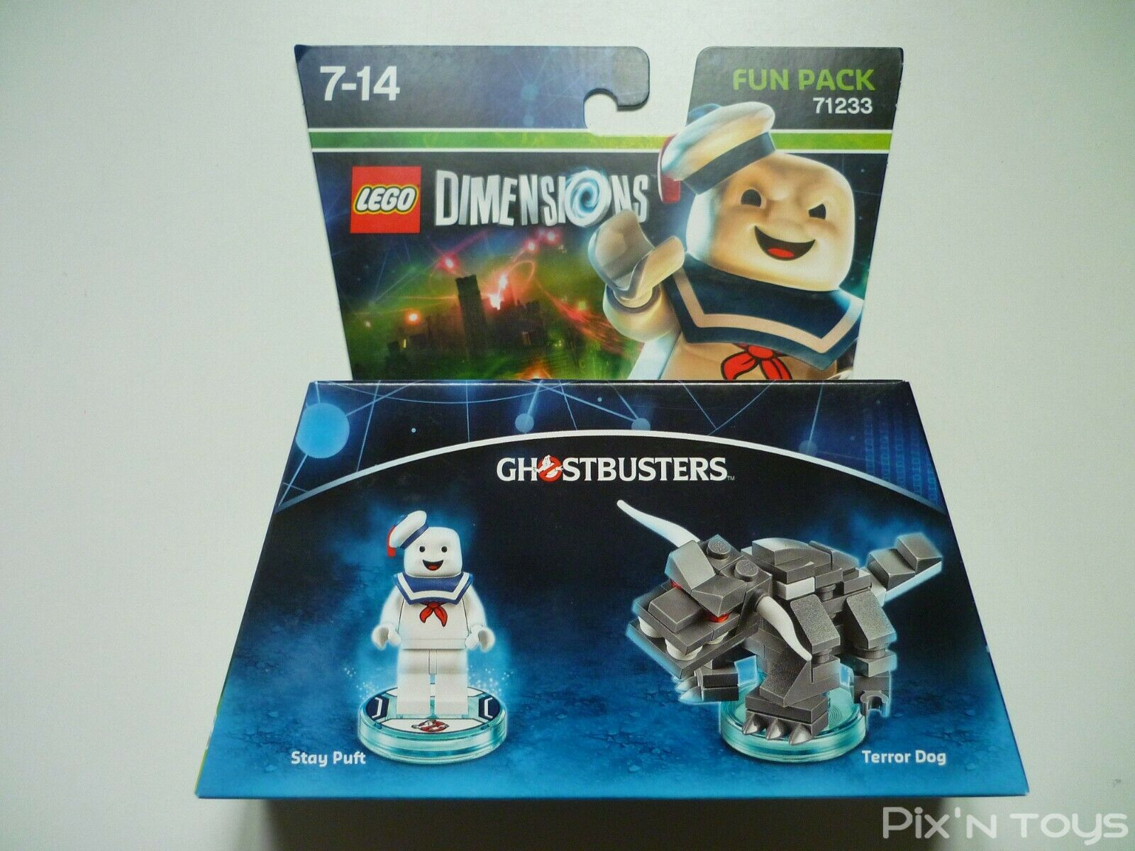 Lego DIMENSIONS Fun Verpackung 71233 Ghostbusters