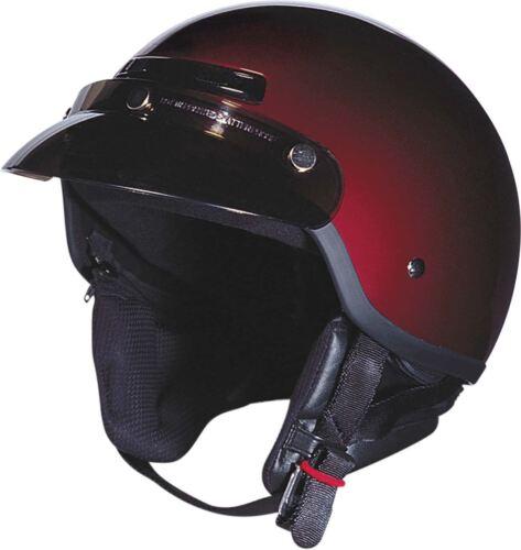Z1R Drifter Helmet Half Shorty Speaker Pockets Bluetooth Ready DOT 2XS-2XL