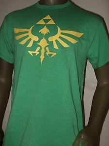 94dd60f9d New Men's Small Green The Legend Of Zelda Triforce Nintendo Game ...